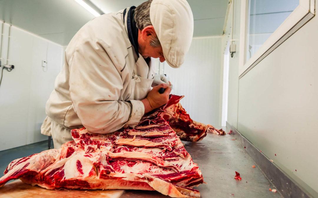 Artisan boucher à Neufchâteau